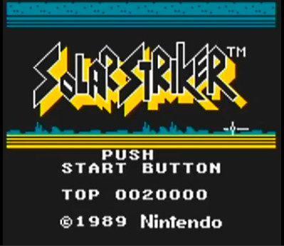 [RANDOM] Solar Striker / Game Boy