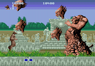[RETROGAMING] ALTERED BEAST / MEGADRIVE