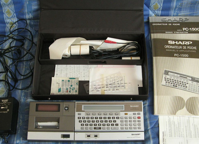 [BROCANTE] Un Sharp PC 1500 en vente !