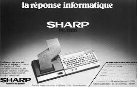 Sharp, la réponse informatique, les outils du pouvoir !