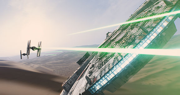 Star Wars Episode 7 : le premier teaser !!!!!!!!