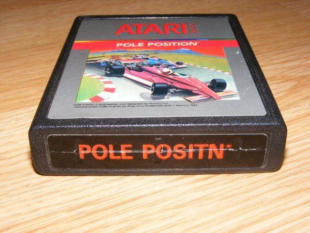 Ma cartouche Atari Loaner-Pole Position à moi