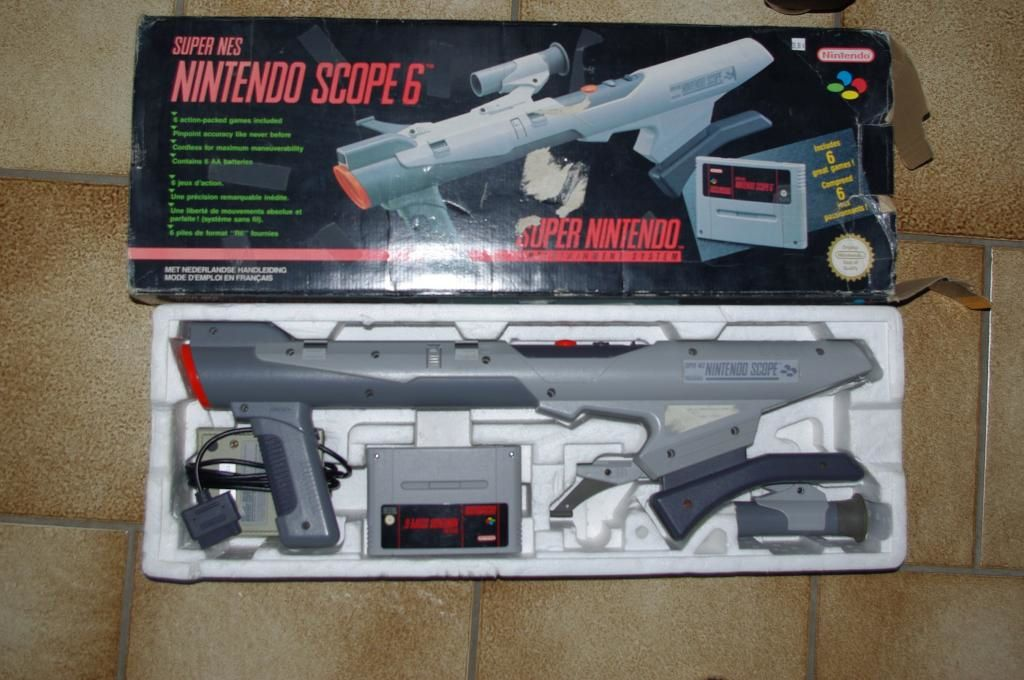 [Test Hardware] Le Super Scope de Nintendo