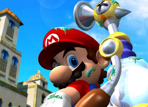 Super Mario 64 devient Mario Sunshine sur DS