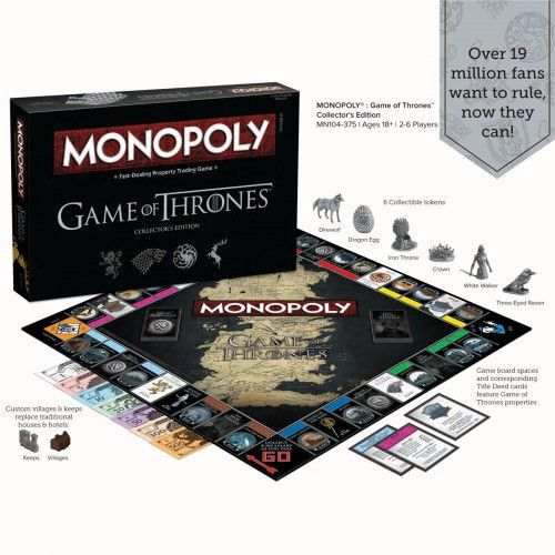 [GEEK] Monopoly Game of Thrones