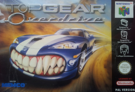 [RETROGAMING] Top Gear Overdrive / Nintendo 64