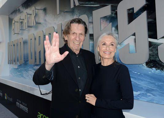Avec sa femme en 2013 pour la promo de Star Trek into Darkness