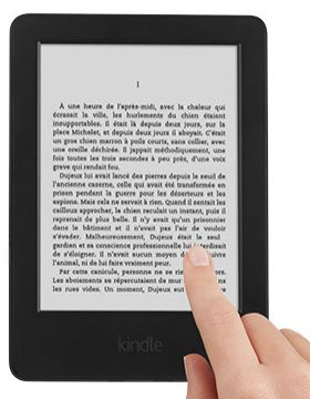 [VENTE FLASH] La nouvelle Kindle pour 39€ !