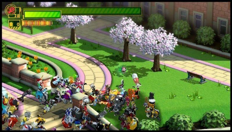 Dans les premiers niveaux, l'univers très mimi et coloré apporte un aspect guilleret au jeu.