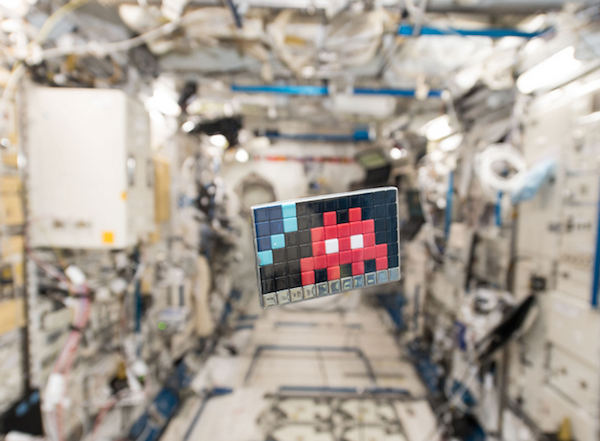 [GEEK] Les Space Invaders s'attaquent à l'ISS !