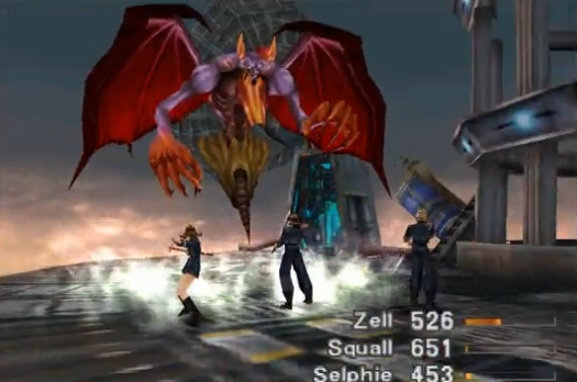 [RETROGAMING] Final Fantasy VIII / PS1