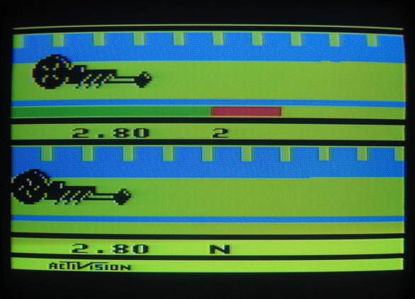 [RETROGAMING] Dragster / Atari 2600