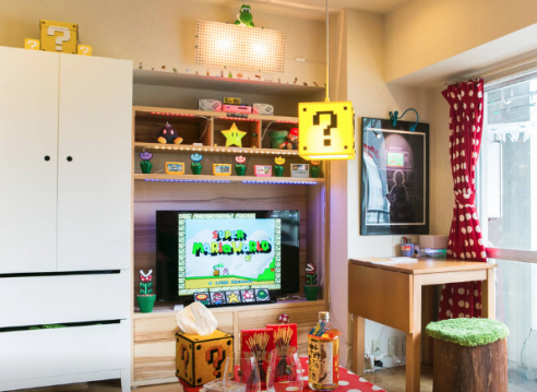 L'appartement Super Mario World