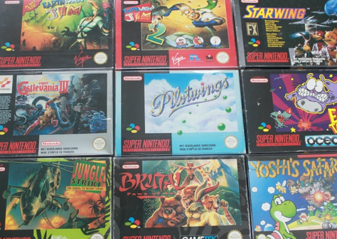 [BROCANTE] Une collection Snes en vente