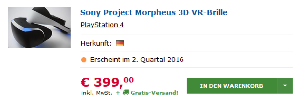 Project Morpheus... ForEver ?