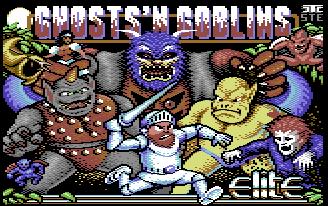 """Ghost's Goblins """"remastérisé"""" sur C64 !"""