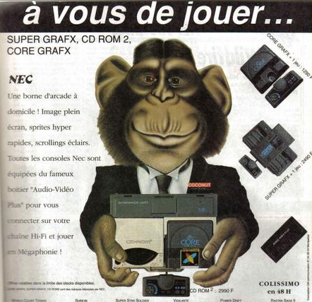 2490F sans catalogue de jeux face à 1290F pour la PC Engine... difficile de s'imposer !