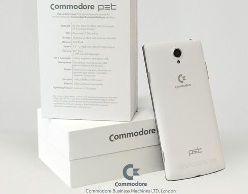 "Nouveau ""come-back"" (bidon) de Commodore"