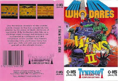 Who Dares Wins II sur MSX 2 !