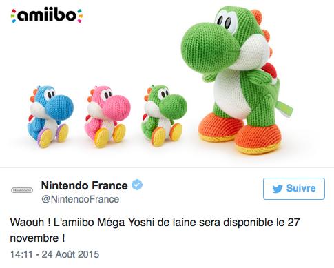 Yoshi va avaler votre pognon !