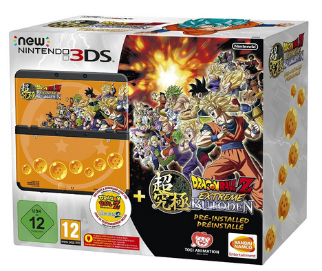 La New 3DS Dragon Ball Extreme Butoden en préco !