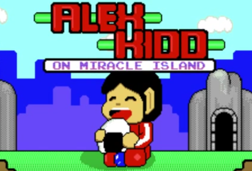 Alex Kidd sur Ti99... et sa version Remaster HD &#x3B;)