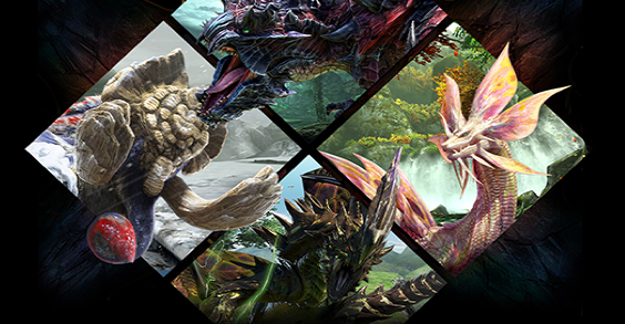 Une queue monstre pour Monster Hunter