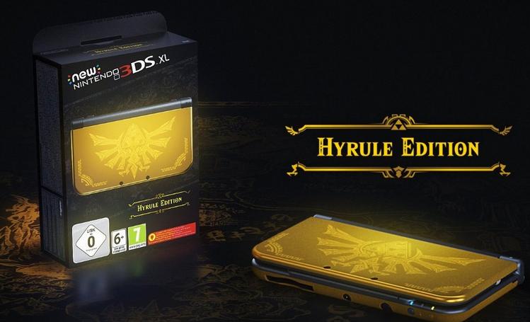 Comment ne pas craquer pour la New 3DS Hyrule Edition ?
