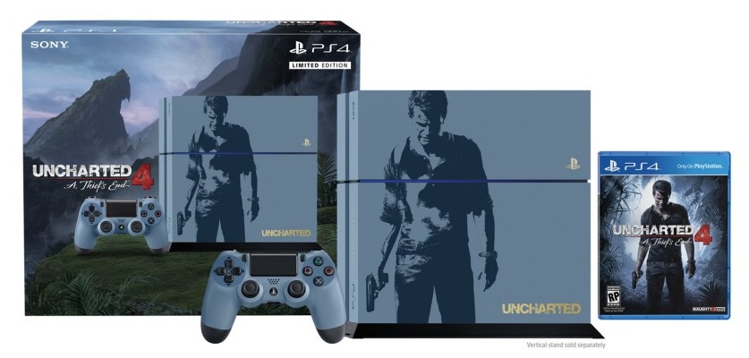Un Bundle Bonux pour Uncharted 4 !