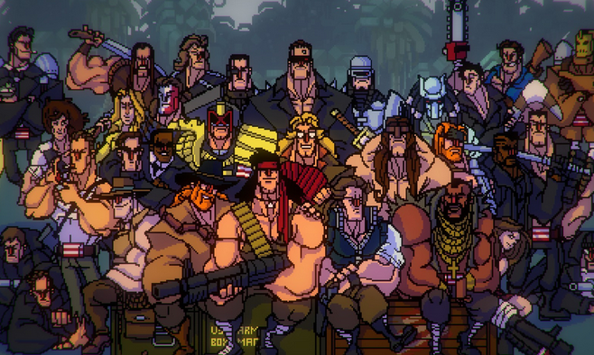 Broforce gratos tout de suite maintenant