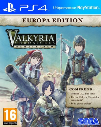 Valkyria Chronicles Remaster PS4 à 24,99€ !