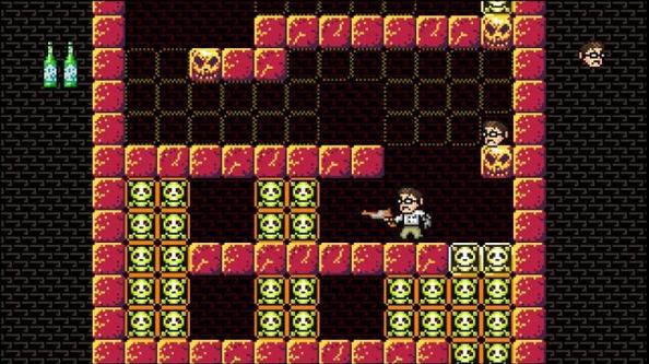 Les deaths-blocks qui apparaissent et disparaissent vous feront perdre un paquet de vies.
