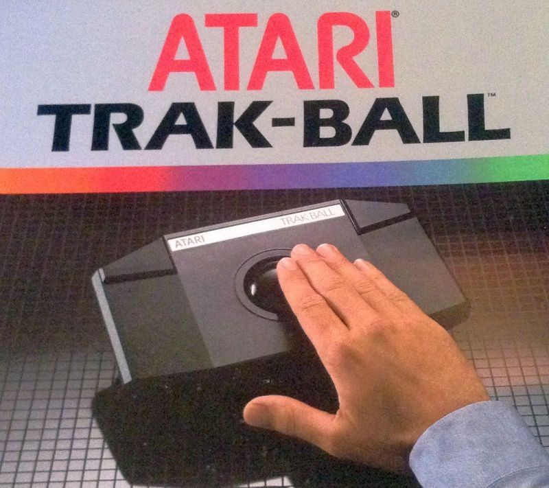 [TEST HARDWARE] L'ATARI TRAK-BALL