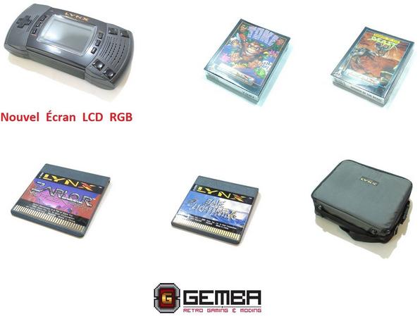 L'Atari Lynx déboule chez Gemba Games !