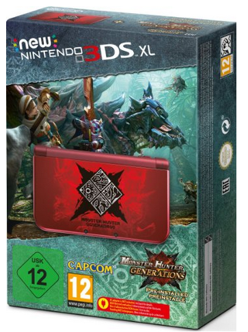 [PRECO] La New 3DS XL Monster Hunter Generations en préco !