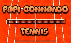 Papi Commando Tennis, le nouveau projet fou de Vetea sur Megadrive