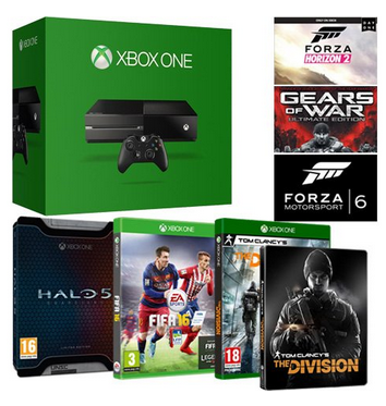 [BONNES AFFAIRES] La Xbox One avec 6 jeux pour 289€