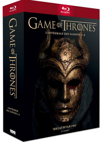 [SOLDES] L'intégrale Game of Thrones en BluRay