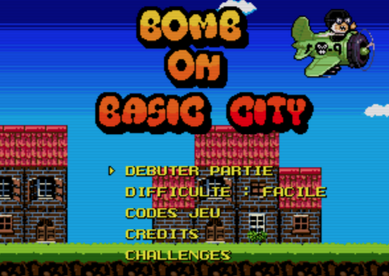 Bomb on Basic City bientôt en cartouche Megadrive !