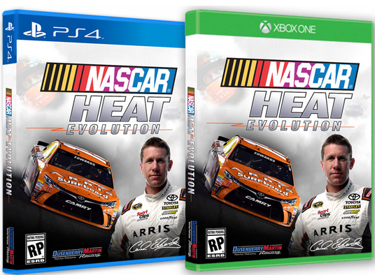 NASCAR Heat Evolution chez Stargames