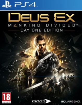 Deus Ex Mankind Divided à 50 brousoufs sur PS4