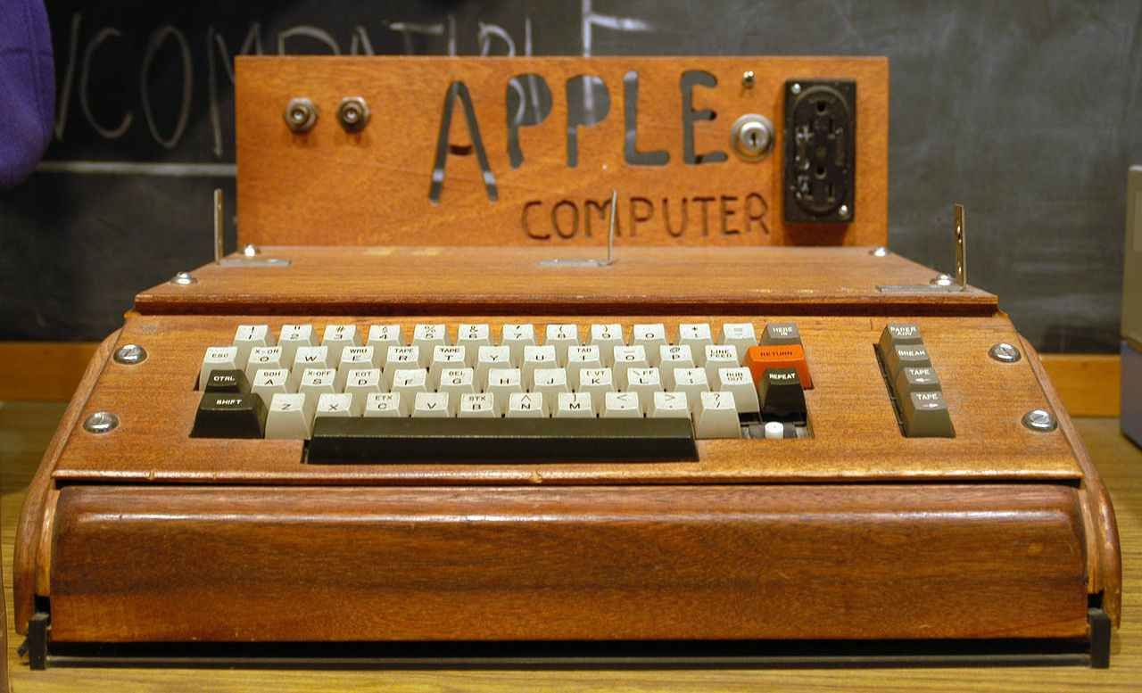 Bordel, j'ai loupé un Apple 1 !
