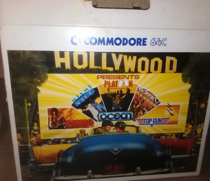 C'est Hollywood sur la brocante de Gamopat !