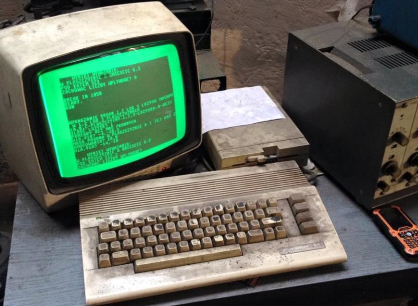 "Le Commodore 64 ""Fallout"""