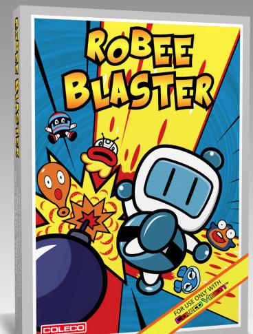 Un jeu explosif sur Colecovision !