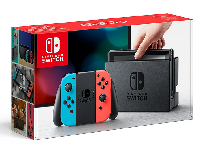 La Switch à 329€ sur Amazon