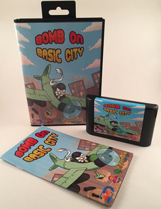 Bomb on Basic City s'offre un trailer sur Megadrive