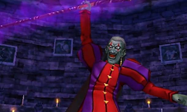 Dhoulmagus le méchant du jeu, imitation low cost de Kefka de FF6