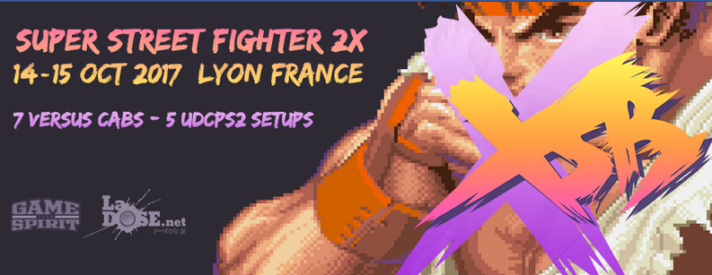 Gros tournoi Super Street Fighter 2X à Lyon en octobre !