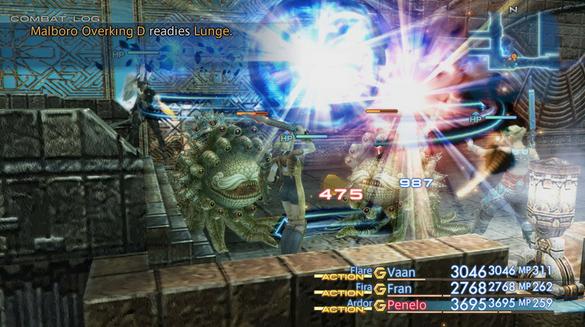 On retrouve les Morbol, ennemi emblématique des Final Fantasy